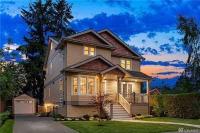 Seattle Single Family Home For Sale: 731 N 89th St