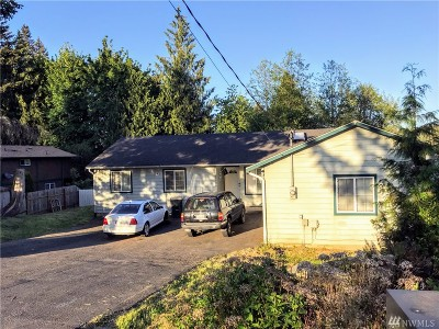 Thurston County Single Family Home For Sale: 11906 Shoreview Dr SW