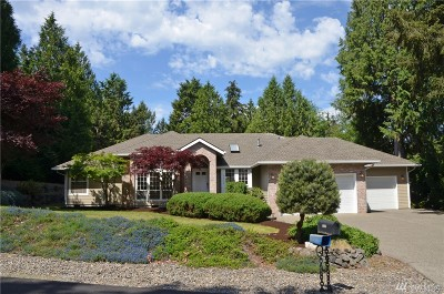 Gig Harbor Single Family Home For Sale: 4606 83rd Ave NW