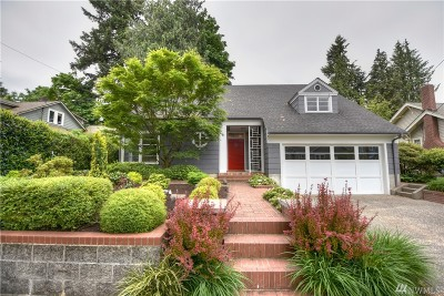 Olympia Single Family Home For Sale: 2423 Columbia St SW