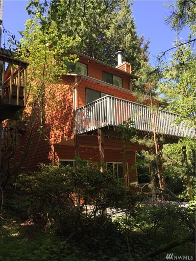 Seattle Single Family Home For Sale: 9530 45th Ave NE #A