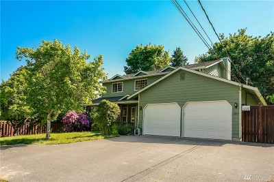 King County Single Family Home For Sale: 11614 26th Ave SW