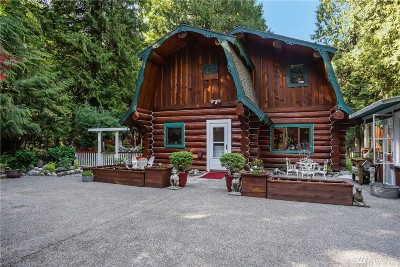 Skagit County Single Family Home For Sale: 7305 Skagit View Dr