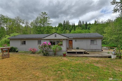 Snohomish Single Family Home For Sale: 21302 N Carpenter Rd