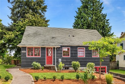 Seattle Single Family Home For Sale: 6814 55th Ave NE