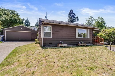 Seattle Single Family Home For Sale: 7247 S 127th St