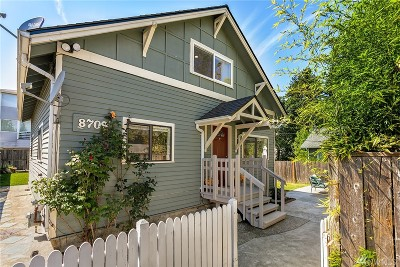 Seattle Single Family Home For Sale: 8709 14th Ave NW