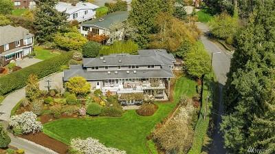 Kirkland Single Family Home For Sale: 11211 Champagne Point Rd NE