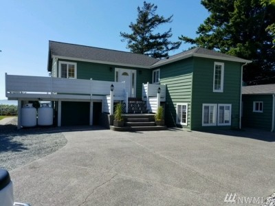 Anacortes Single Family Home For Sale: 12816 Marine Dr
