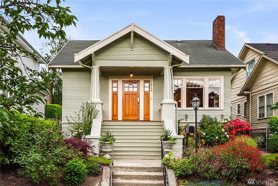 Seattle Single Family Home For Sale: 2814 30th Ave S