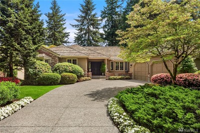 Sammamish Single Family Home For Sale: 2526 Sahalee Drive West