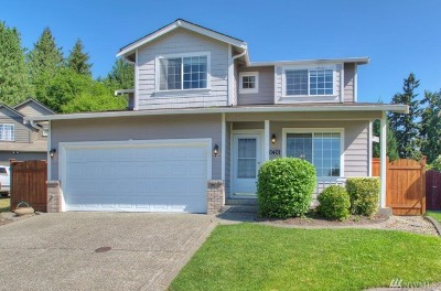Bonney Lake WA Single Family Home For Sale: $330,000