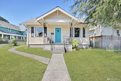 Single Family Home For Sale: 5610 S Oakes St