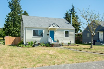 Tacoma Single Family Home For Sale: 635 N Rochester St