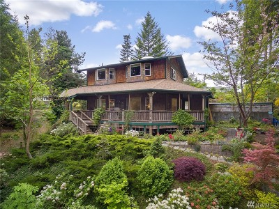 Belfair Single Family Home For Sale: 2281 E Trails End Dr