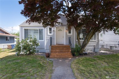 Tacoma Single Family Home For Sale: 1715 S Washington St