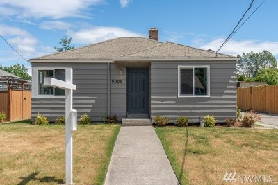 Seattle Single Family Home For Sale: 9006 3rd Ave S