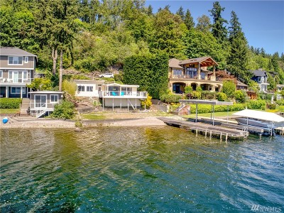 Bellevue Single Family Home For Sale: 672 W Lake Sammamish Pkwy NE