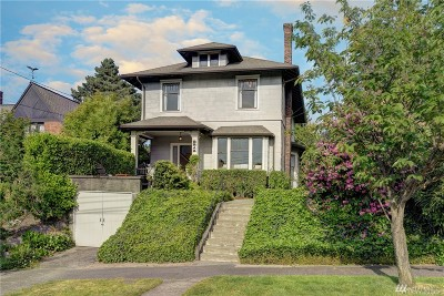 Seattle Single Family Home For Sale: 2214 13th Ave E