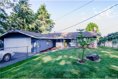 Snohomish Single Family Home For Sale: 6110 70th Dr SE