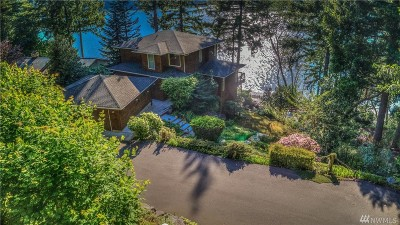 Thurston County Single Family Home For Sale: 6023 Brenner Rd NW