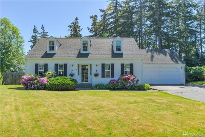 Oak Harbor WA Single Family Home Pending: $349,000