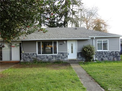 Tacoma Single Family Home For Sale: 804 112th St S