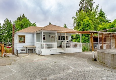 Seattle Single Family Home For Sale: 10841 S 8th Ave S