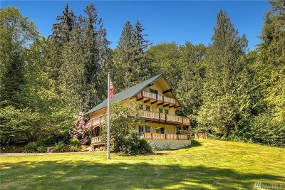 North Bend WA Single Family Home For Sale: $598,000