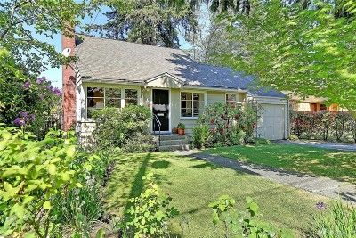 Seattle Single Family Home For Sale: 6539 49th Ave NE