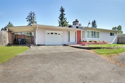 Tacoma Single Family Home For Sale: 10617 S Sales Rd