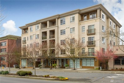 Condo/Townhouse Sold: 118 107th Ave NE #B109