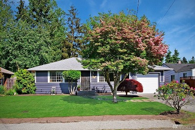 Burien Single Family Home For Sale: 15672 19th Ave SW