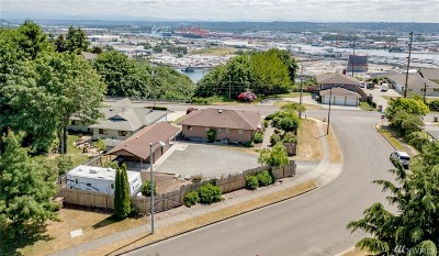 Tacoma Single Family Home For Sale: 1215 Browns Point Blvd