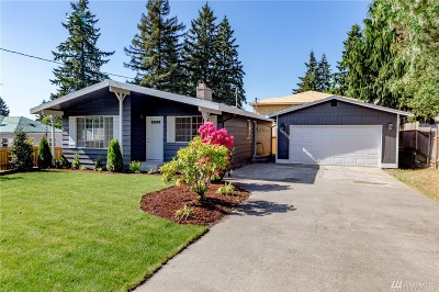 SeaTac Single Family Home For Sale: 3430 S 164th St