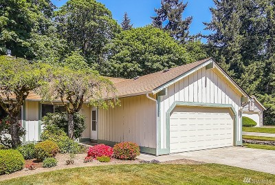 Federal Way Condo/Townhouse For Sale: 1706 SW 307th St #B