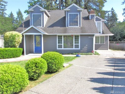 Pierce County Single Family Home For Sale: 8318 North Wy SW