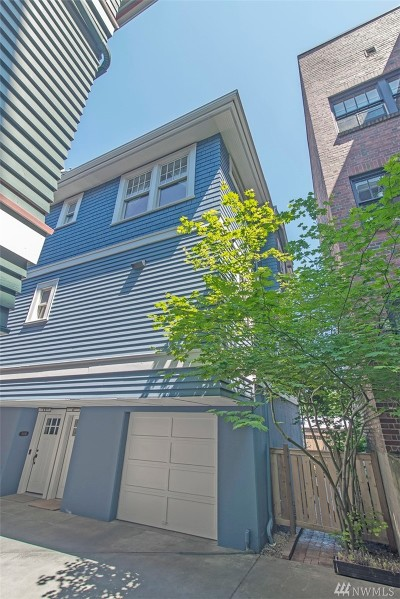 Seattle Single Family Home For Sale: 510 Malden Ave E #A