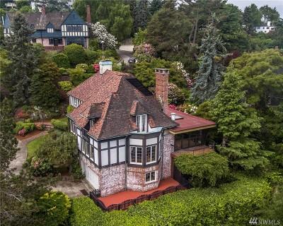 Seattle Single Family Home For Sale: 1626 E Boston Terrace