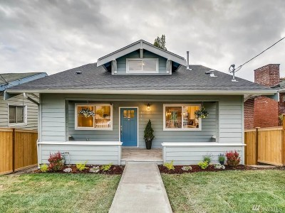 Seattle Single Family Home For Sale: 3419 34th Ave S