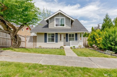 Tacoma Single Family Home For Sale: 3515 S 7th St