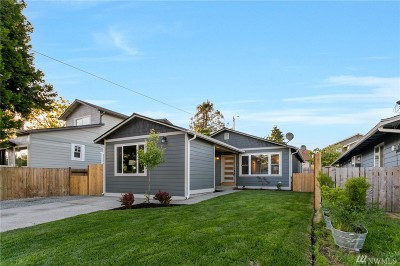 Seattle Single Family Home For Sale: 510 N 103rd St