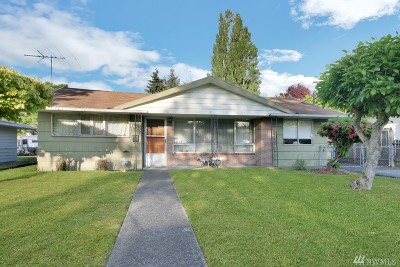 Tacoma Single Family Home For Sale: 1805 S State St