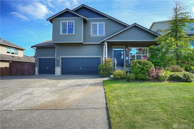 Puyallup Single Family Home Contingent: 13502 168th St Ct E