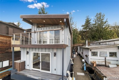 Seattle Single Family Home For Sale: 2540 Westlake Ave N #5-501