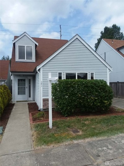 Tacoma Single Family Home For Sale: 141 99th St Ct E