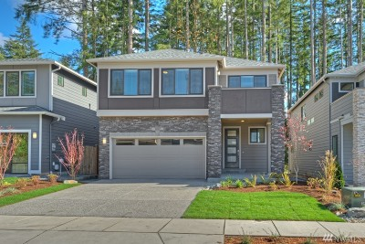 Bothell Single Family Home For Sale: 4428 215th Place SE #CT 25