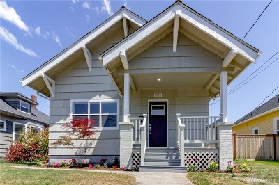 Tacoma Single Family Home For Sale: 3511 N Cheyenne St