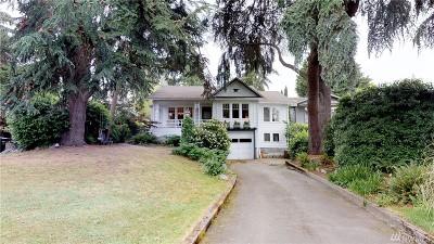 Seattle Single Family Home For Sale: 4123 Lake Washington Blvd S
