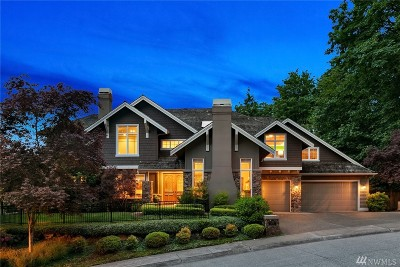 Newcastle Single Family Home For Sale: 14716 SE 83rd Place